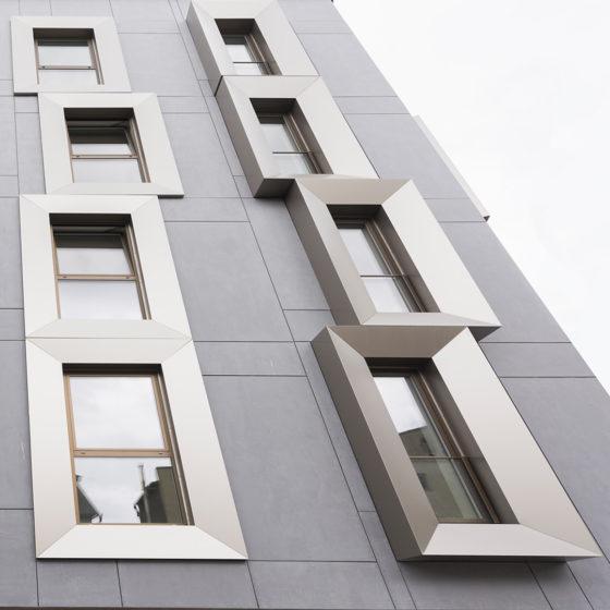Alumiiniumkomposiitplaatidest fassaadipaneelid